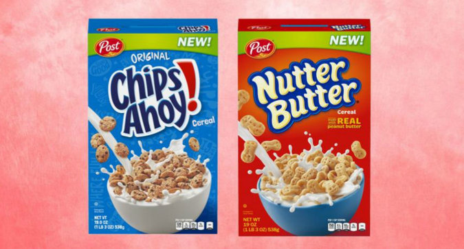 Nutter Butter and Chips Ahoy Cereals are Coming