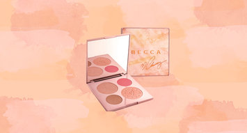 Chrissy Teigen's BECCA Glow Face Palette Launches Today