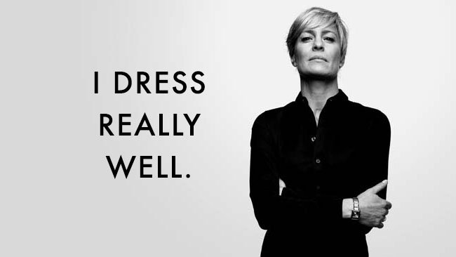 Style Stalker: How To Dress Like Claire Underwood for Less