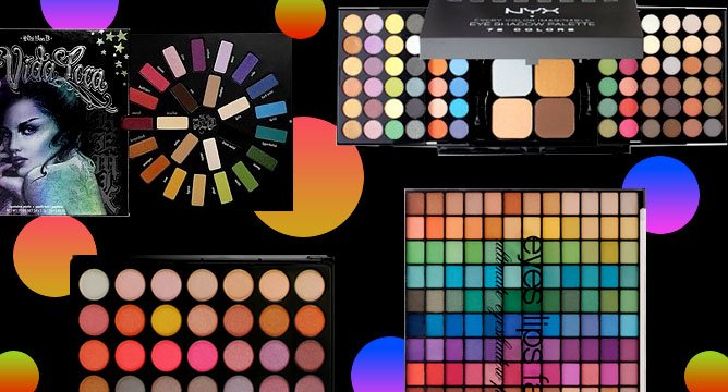 The Colorful Eyeshadow Palettes Influensters Swear By