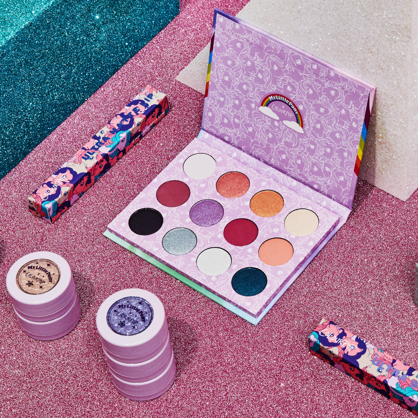 See All of the New ColourPop x My Little Pony Collection