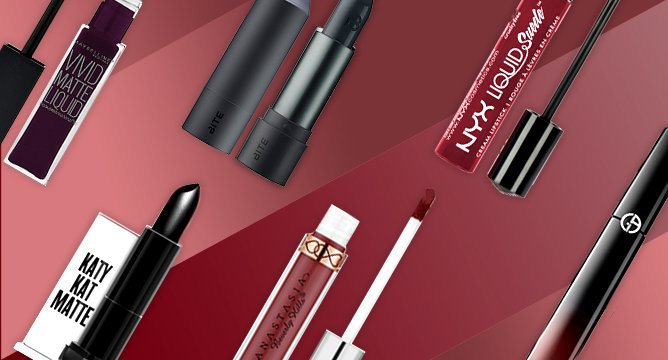 Get the Look: Daring Dark Lips