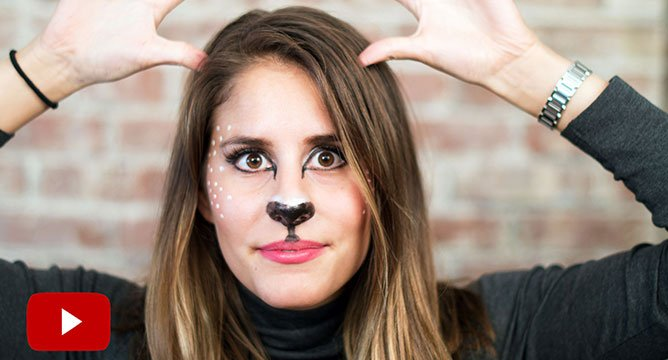 5 Minute Halloween Tutorial: The Doe!