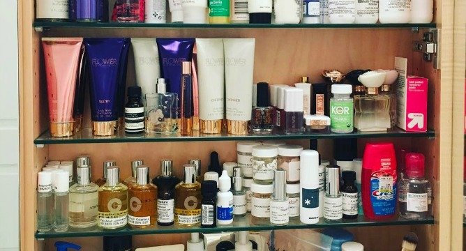Drew Barrymore Just Revealed Everything In Her Beauty Bag