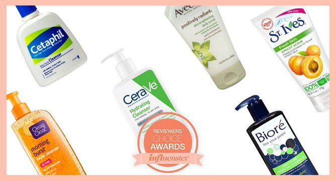 Know Your Nominees: The Best Drugstore Facial Cleansers