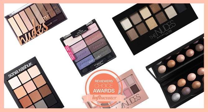 Know Your Nominees: The Best Drugstore Eyeshadow Palettes