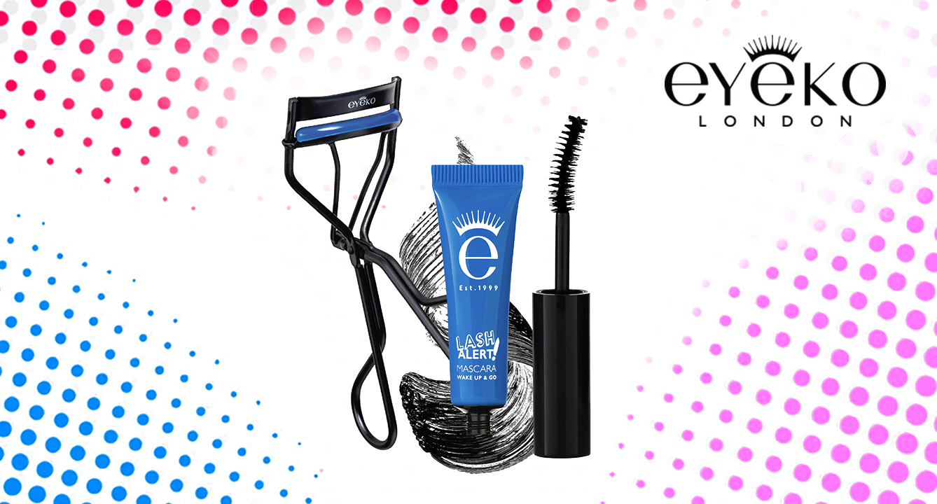 The Perfect Wide-Eyed Look with Eyeko's Cushion Curler