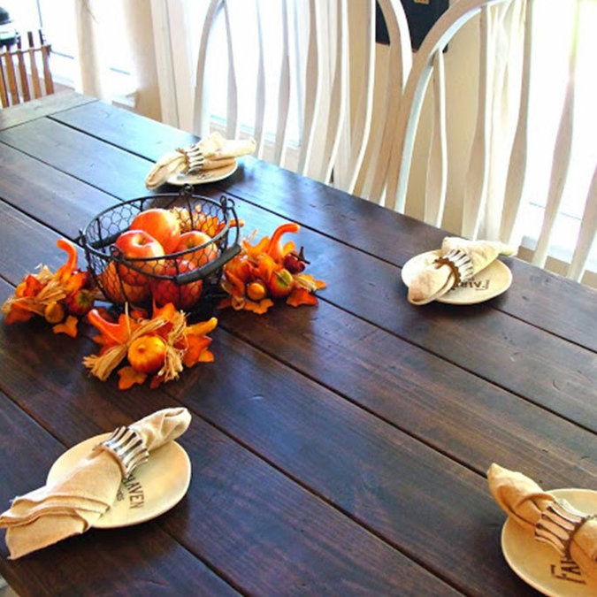 Fabulous Farmhouse Table Tutorial