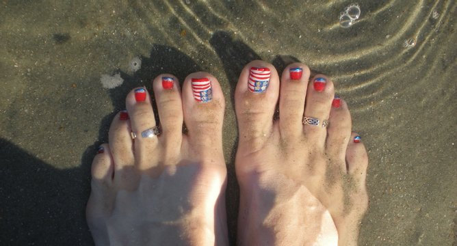 4th of July Nail Art Inspiration
