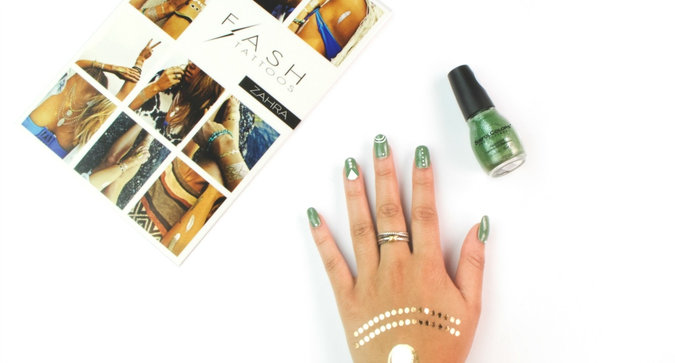 DIY This Festival-Ready Mani In Only 4 Steps