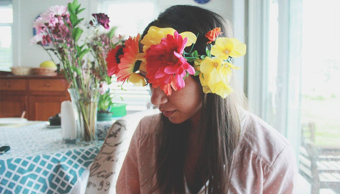 DIY: How to Make a Midsummer Flower Crown