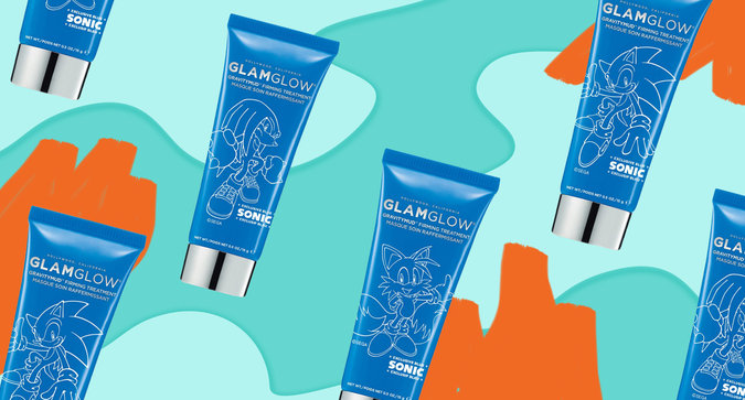 GLAMGLOW Launches Special Edition Sonic-Themed Tubes Today