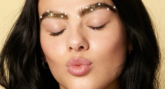 Trend Alert: Would You Try Glitter Brows?