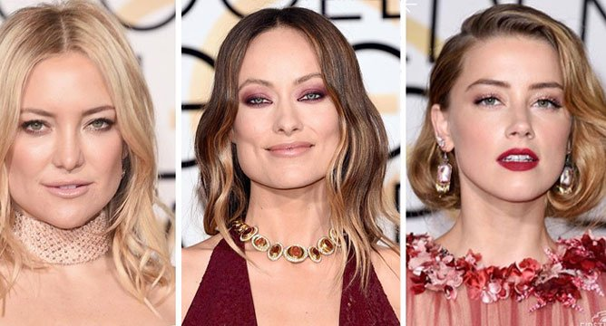 Best Beauty from the 2016 Golden Globes