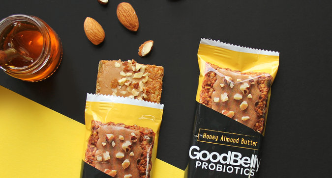 These Probiotic Snack Bars Will Make Your Belly Smile