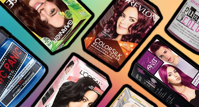 Top 10 At-Home Hair Dyes