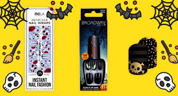 3 Halloween Nail Art Ideas That Have Nothing to do With Pumpkins