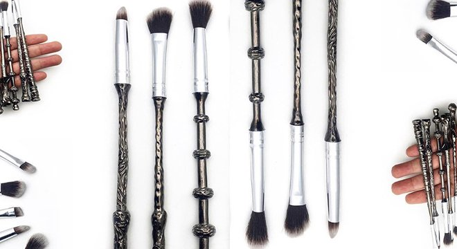 Harry Potter-Inspired Makeup Brushes Are Happening