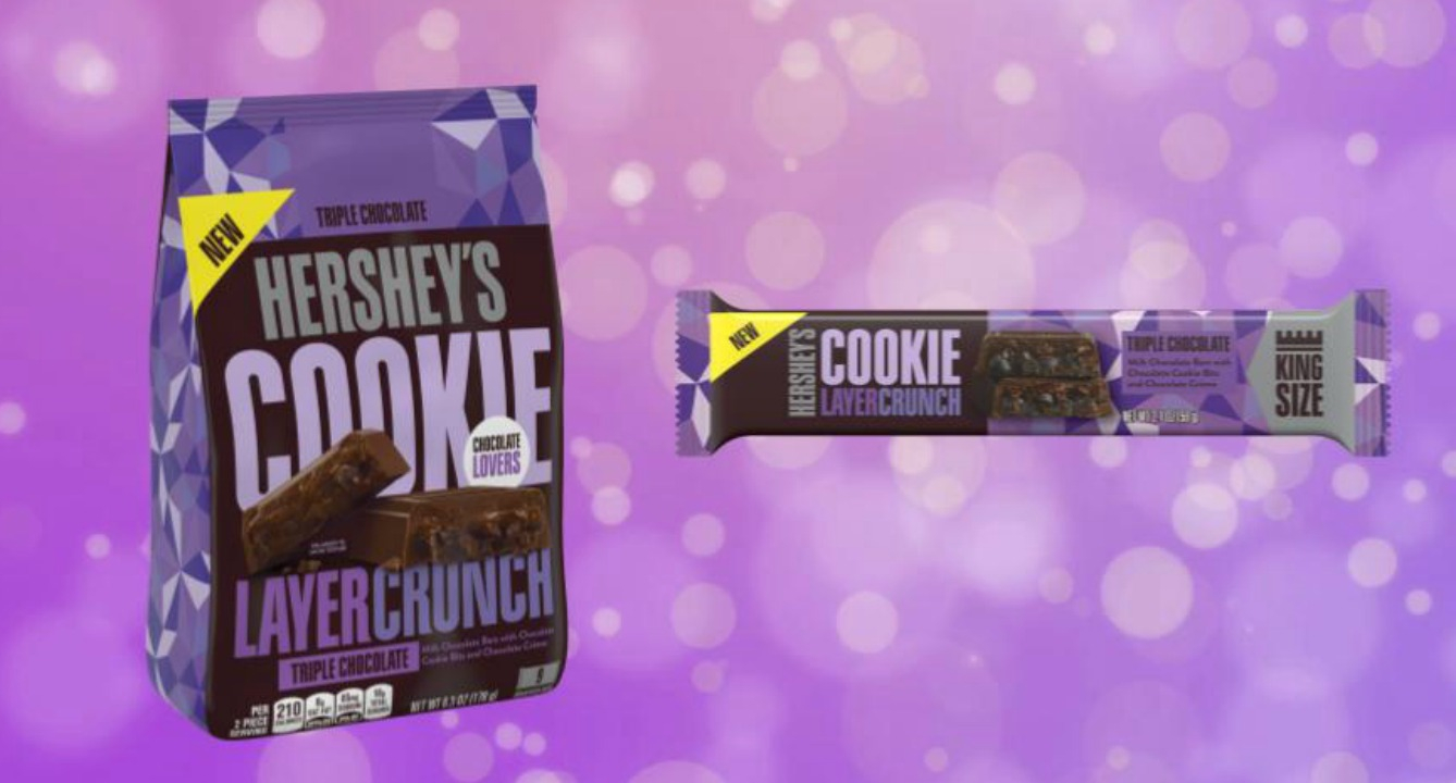 Hershey's New Cookie Bar is The Most Chocolately Thing We've Seen