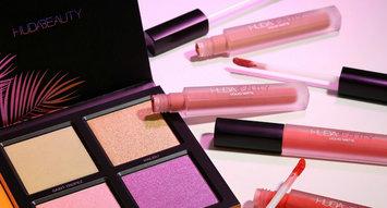 Huda Beauty's Summer Solstice Highlighter Palette Drops Today