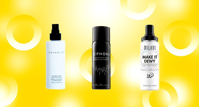 Illuminating Setting Sprays Are Here to Make Your Glowy Dreams Come True