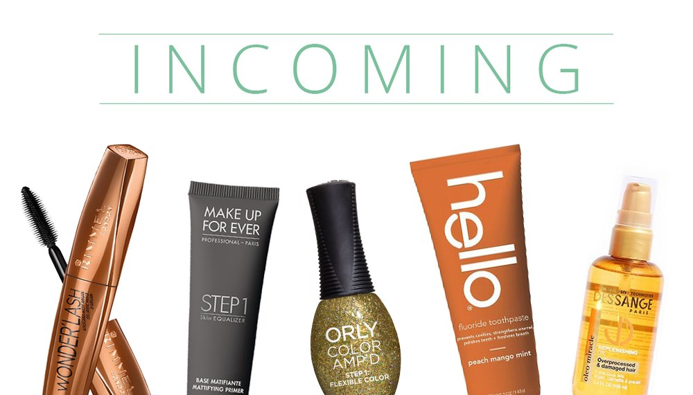 INCOMING: New Products from Dessange Paris, Rimmel London, and more!