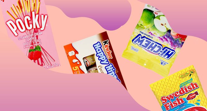 The Best Imported Candies