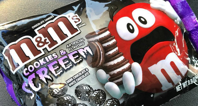 Cookies and Screeem M&M's are the Candy We Never Knew We Wanted