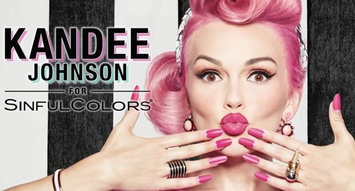 The Kandee Johnson X Sinful Colors Collaboration is Like Candyland