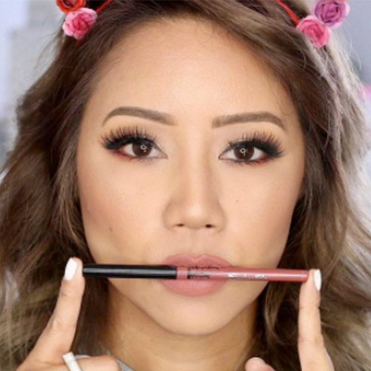 Different Ways to Wear Kat Von D's Everlasting Lip Liner
