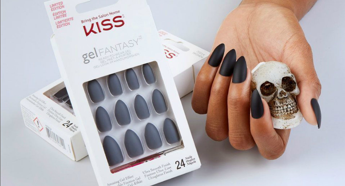 kiss just made your halloween mani so easy