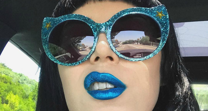 Kat Von D Just Teased a New Glitter Product