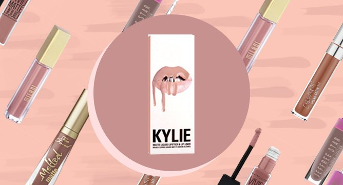 The Best Dupes for Kylie's Liquid Lipstick in Candy K