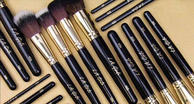 L.A. Girl Launches Makeup Brushes