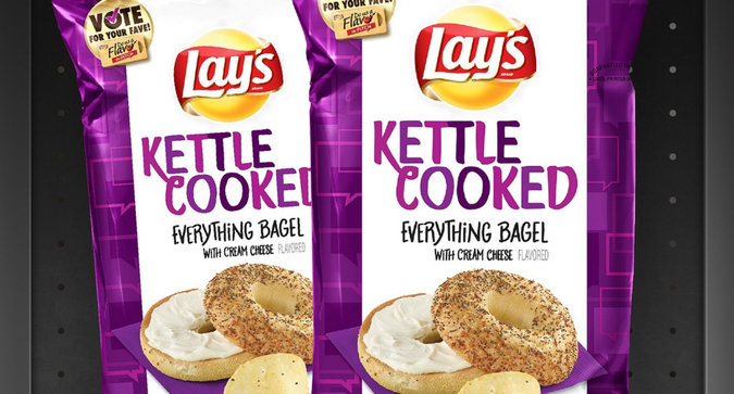 You Can Now Snack on Everything Bagel-Flavored Chips