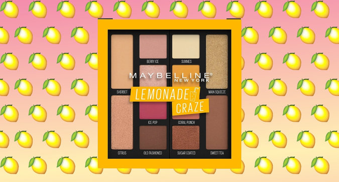 Maybelline's Lemonade Palette is Coming Very Soon