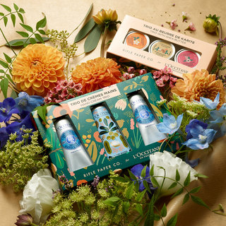 This L'Occitane x Rifle Paper Co. Collab is So Photogenic
