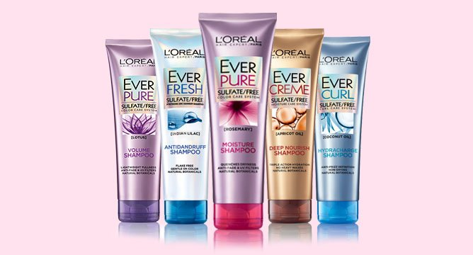 Go Sulfate-Free with Ever from L'Oréal