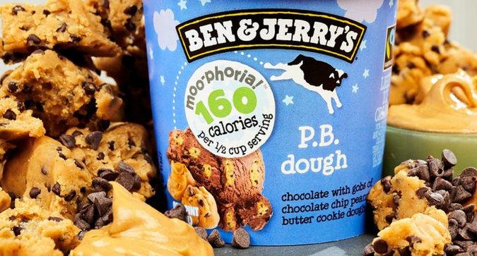 Ben & Jerry's Moo-phoria is Making Ice Cream Low Calorie