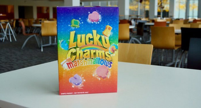INCOMING! The Marshmallow Only Lucky Charms Box is FINALLY HERE!