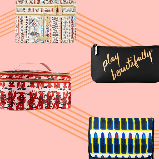5 Makeup Bags to Store Your Most Prized Makeup