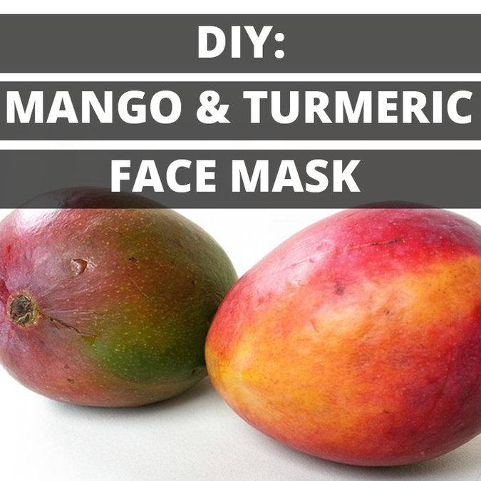DIY: Mango Turmeric Face Mask