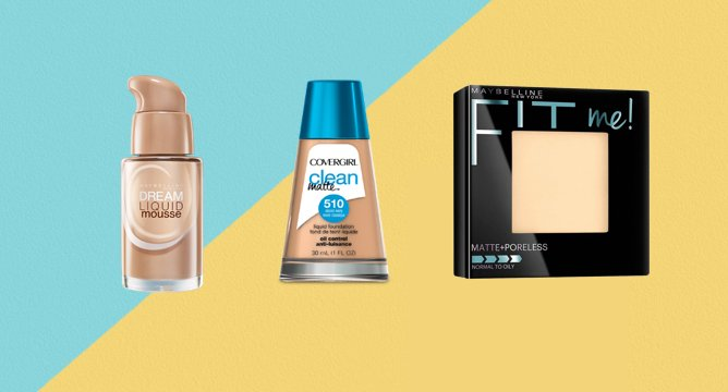 165K Reviews: 2016's Best Drugstore Matte Foundations