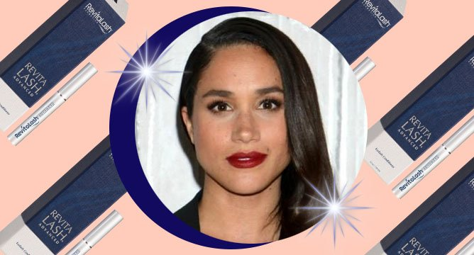 Meghan Markle's Amazing Lash Secret