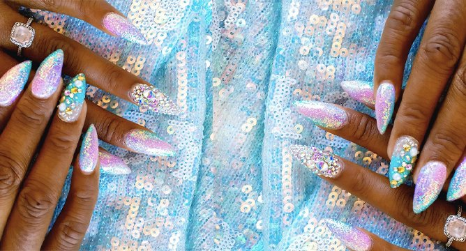 Mermaid Nail Inspo to Try