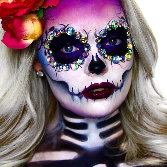 Instagrammers to Follow: Halloween Makeup Inspo