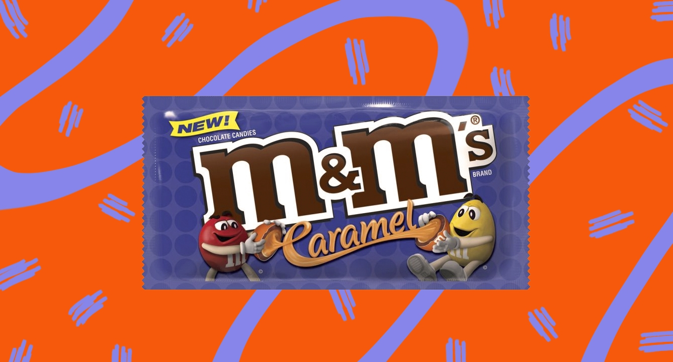 M&M's Caramels Bags Are Made For Gamers