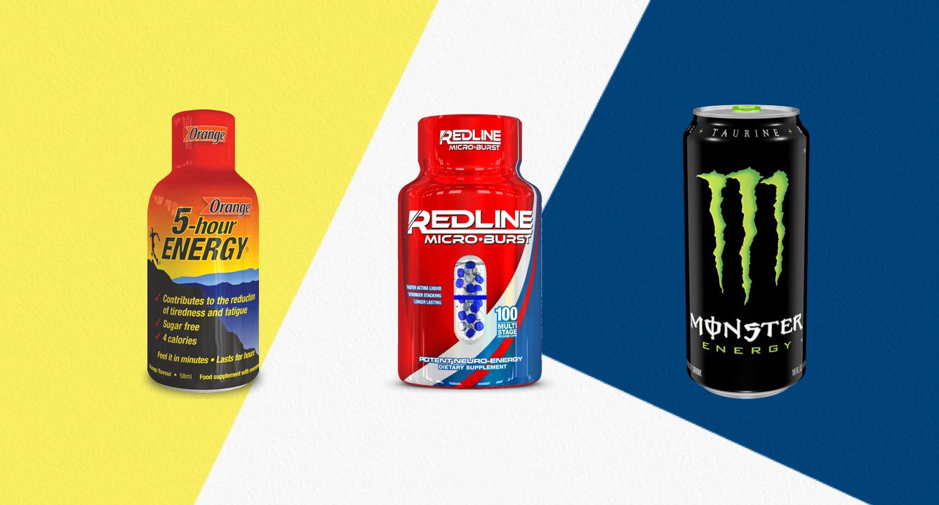The Most Caffeinated Energy Drinks