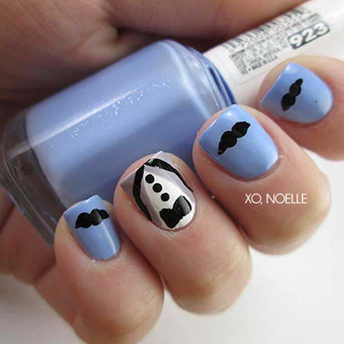 Manicure for a Cause: Movember