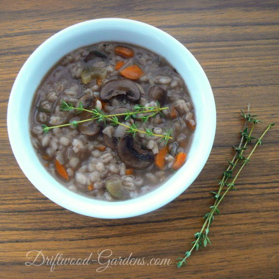 What's for Dinner?: Mushroom Barley Soup